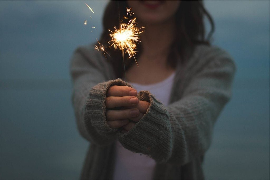 Asertywność - kobieta z zimnym ogniem.