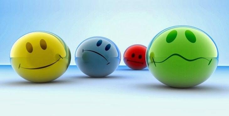 kulki przedstawiające emocje