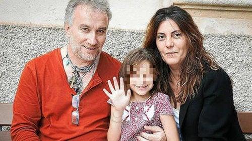 Nadia z rodzicami
