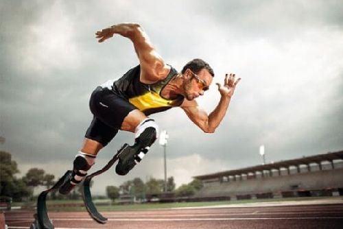 Niepełnosprawny sportowiec