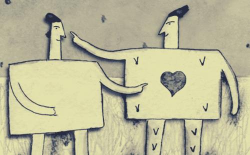 Oznaki manipulacji słownej - dwie osoby rozmawiają