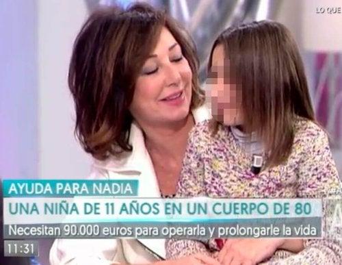 Przypadek Nadii w telewizji