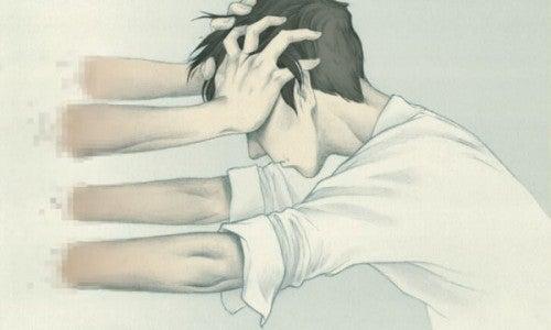Przemoc - Zestresowany chłopak