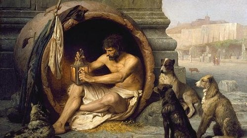 Diogenes w beczce