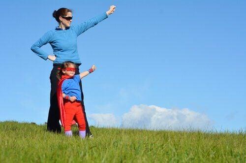 Dzieci chronione przez nadopiekuńcze mamy