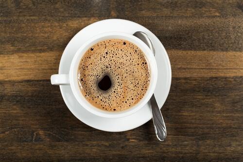 Filiżanka kawy.