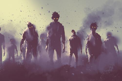 Fobia społeczna – ludzie wyglądają jak zombie