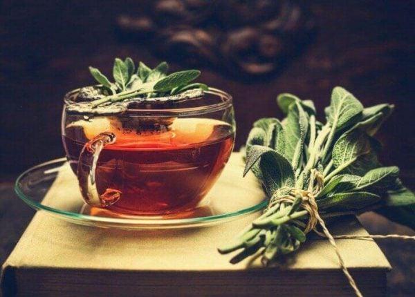 Herbata z szałwii.