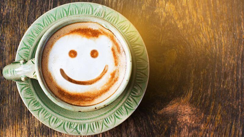 kawa z uśmiechem - pokochaj samego siebie