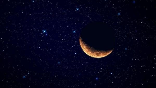 Księżyc, ostatni kwartał.
