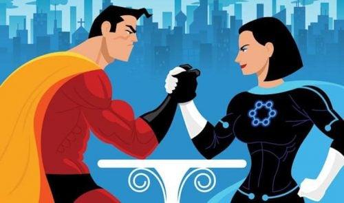 Machismo - superbohaterowie mierzą swoją siłę