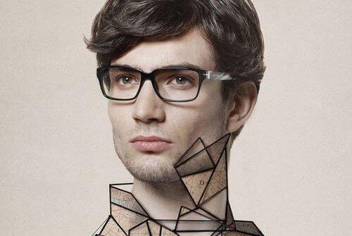 Kompleks Arystotelesa - Mężczyzna w okularach
