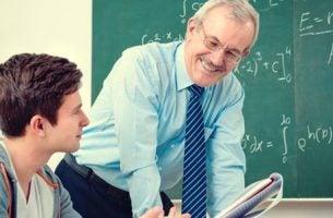wspaniały nauczyciel