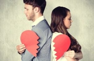 Niewierność - skłócona para.