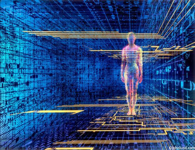 postać w cyfrowym świecie