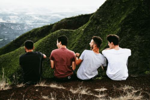 Przyjaciele w górach