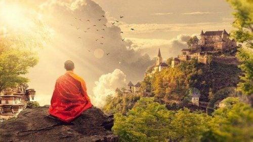 Przysłowia hinduskie - mnich buddyjski