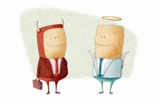 Relatywizm moralny - anioł i diabeł