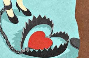 serce w sidłach