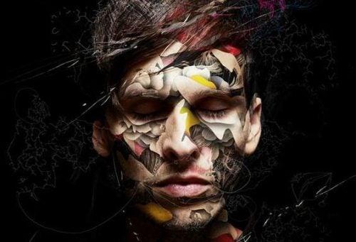 Choroba psychiczna - wizerunek mężczyzny