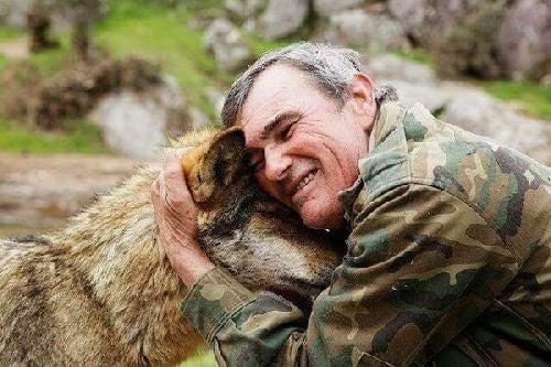 Człowiek i wilk