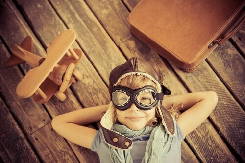 Zadowolone dziecko - kreatywność