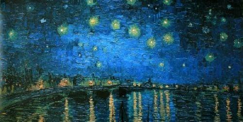 Gwiaździsta noc nad Rodanem