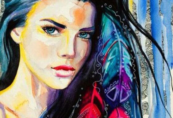 Malowana twarz