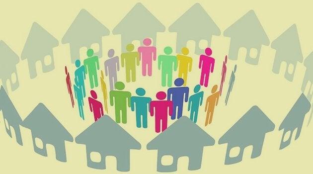 Przestrzeń wspólna i sąsiedzi.