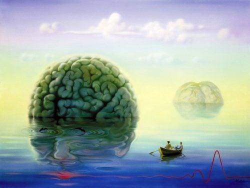 Mózg na powierzchni wody