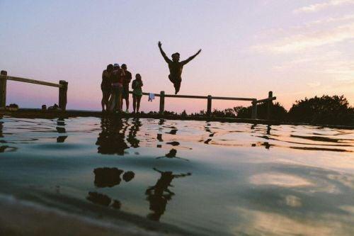 Radość ze skakania do wody - robienie czegoś po raz pierwszy