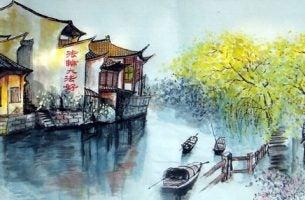 Przejść przez rzekę - historia Zen