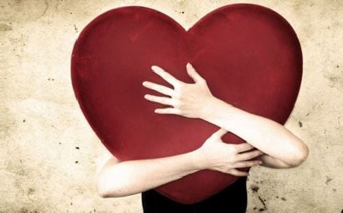 Serce w objęciach