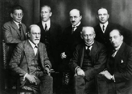 Sigmund Freud i inni psychoanalitycy