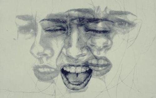 Świadomość emocjonalna - różne emocje