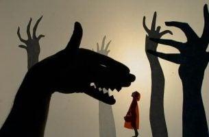Anatomia strachu. Zły wilk.