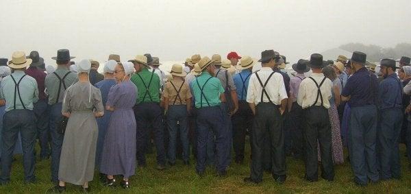 Społeczność Amiszów.