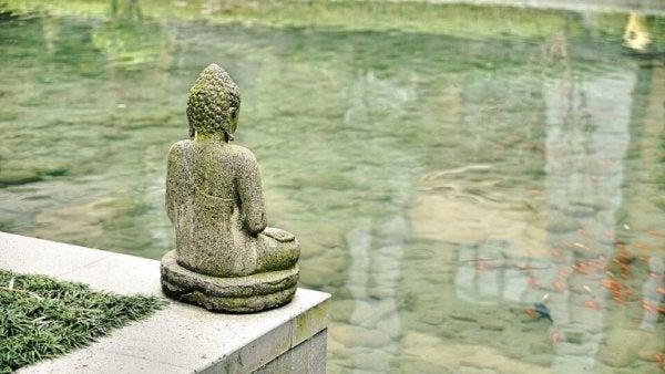 nauka i religia - budda jako symbol