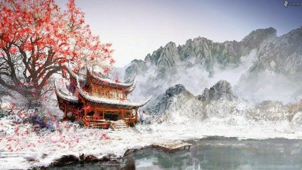 Chiński krajobraz