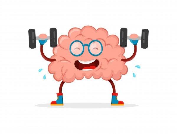 Ćwiczący mózg.