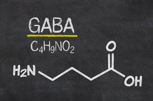 Gaba - wzór na tablicy