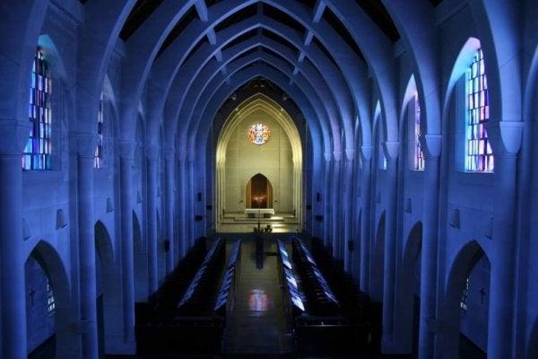 kościół - istotne miejsce, dla których ważna jest religia