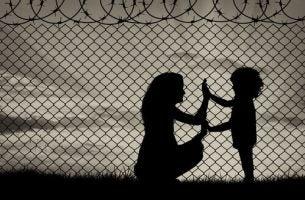 Mama i dziecko - dramat uchodźców