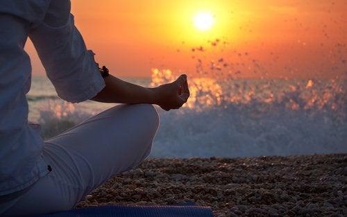 Medytacja nad morzem