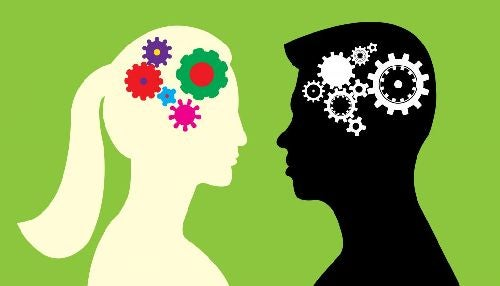 Mózgi mężczyzny i kobiety