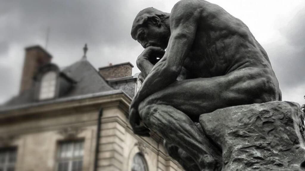 Związek pomiędzy filozofią a psychologią - myśliciel