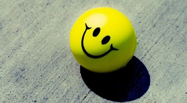Uśmiechnięta buźka.
