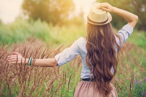 Poczucie szczęścia to świadomość, że nie jesteś zagubiony