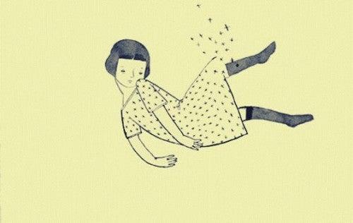 Rysunek dziewczyny
