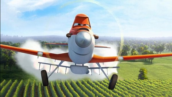 Samolot Dusty.